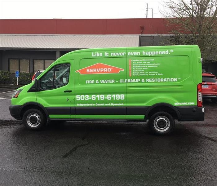 Our SERVPRO Mega Van