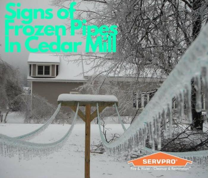 Water Damage Signs of Frozen Pipes: What to Look For In Cedar Mill