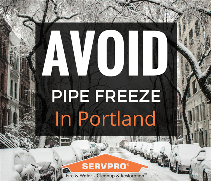 Water Damage Exposed Pipes Can Freeze