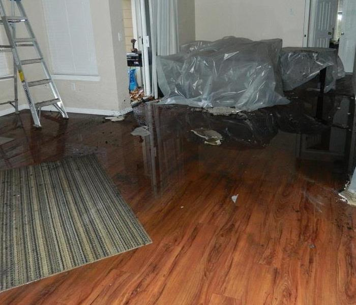 Water Damage Seasonal home damage with water